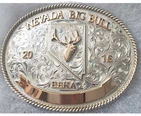 Big Bull 2016 belt buckle