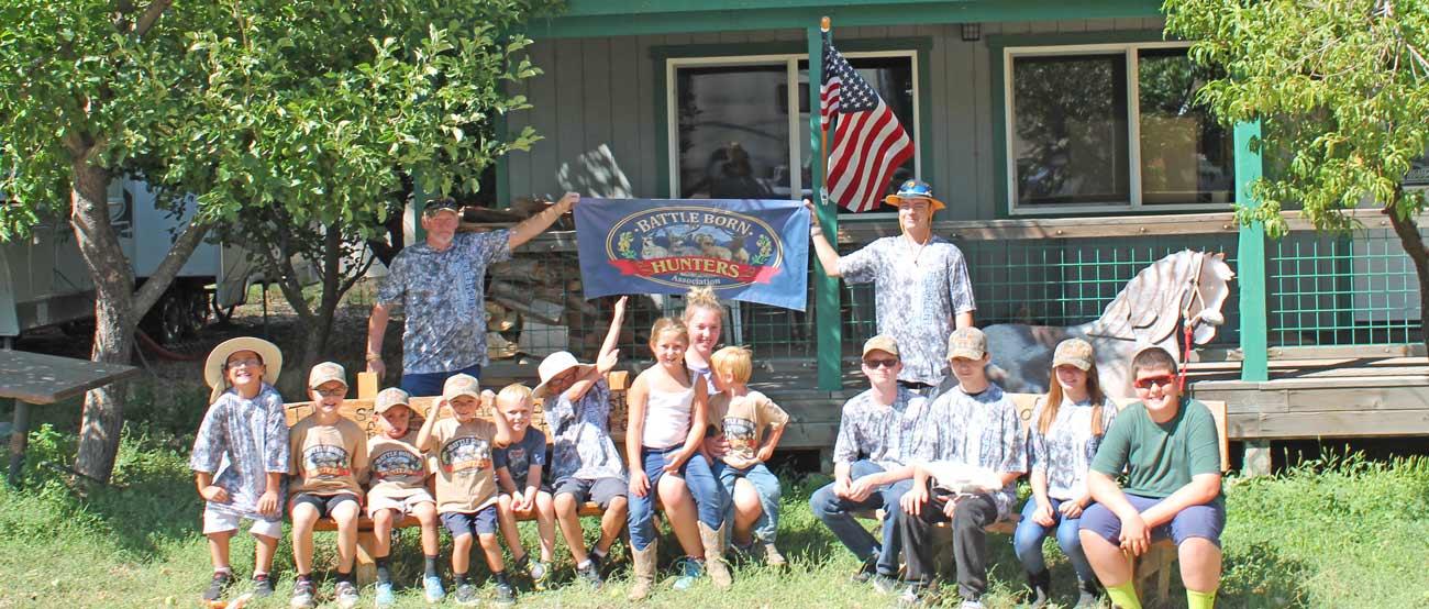 Battle Born Hunter's Association Youth Day Camp 2017